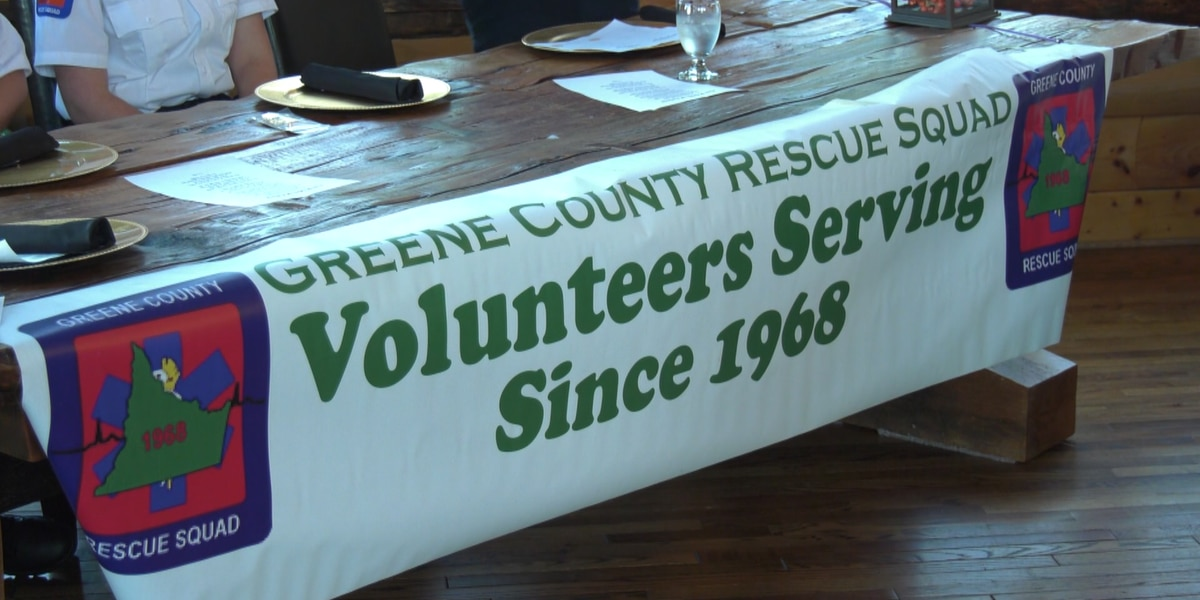 Greene County Rescue Squad honors volunteers at 52nd annual banquet