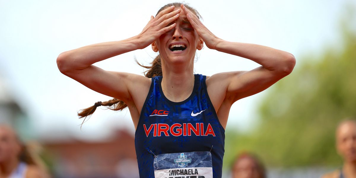 UVA's Michaela Meyer wins NCAA Championship in 800m