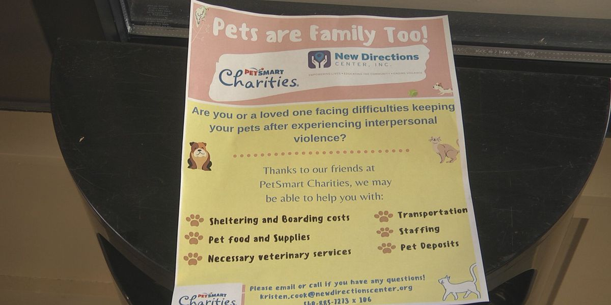 Grant helps those in abusive relationships find safer situations with their pet
