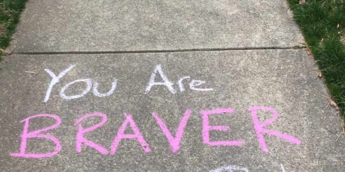 "Albemarle Co. family ""chalks up"" positivity to being outside during COVID-19"