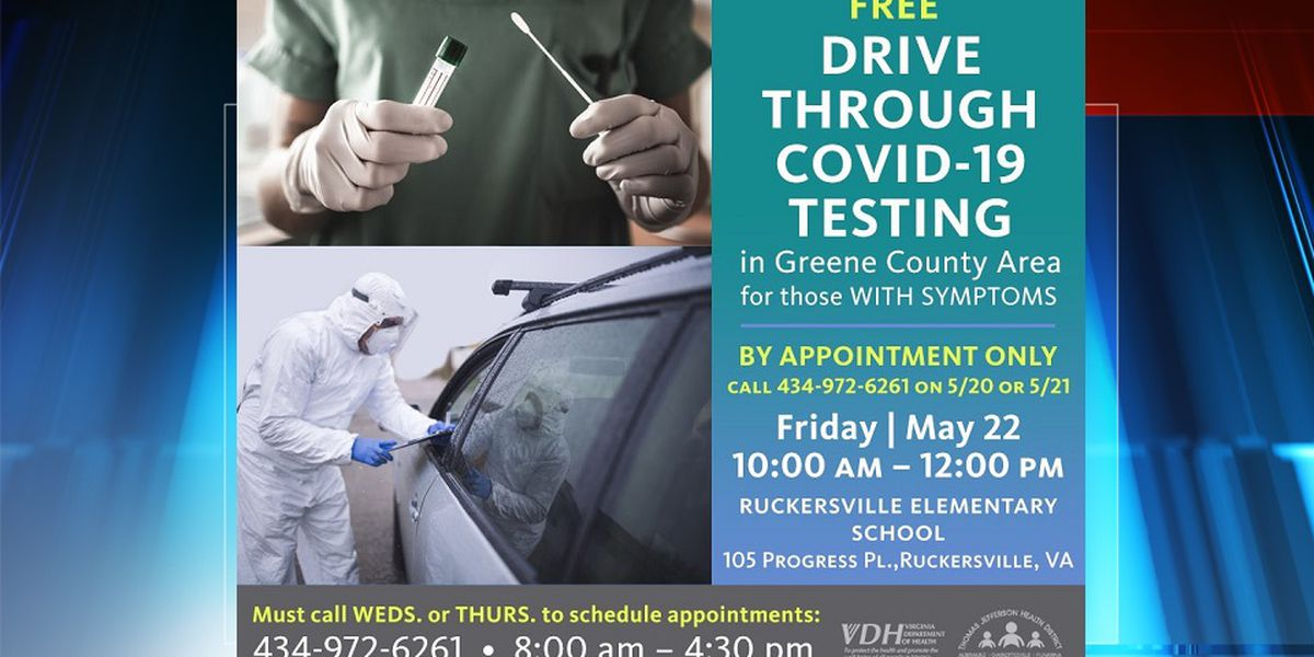 TJHD to offer free COVID-19 testing in Greene Co. May 22