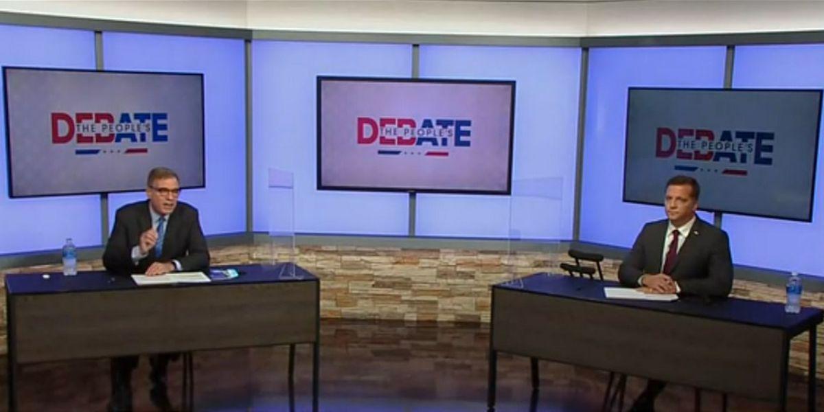 Gade, Warner spar over healthcare and COVID relief at final debate