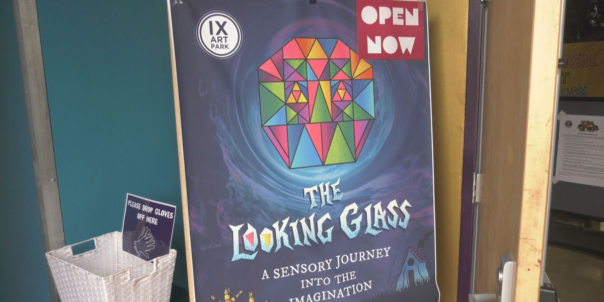 Looking Glass Exhibit at IX Art Park Reopens