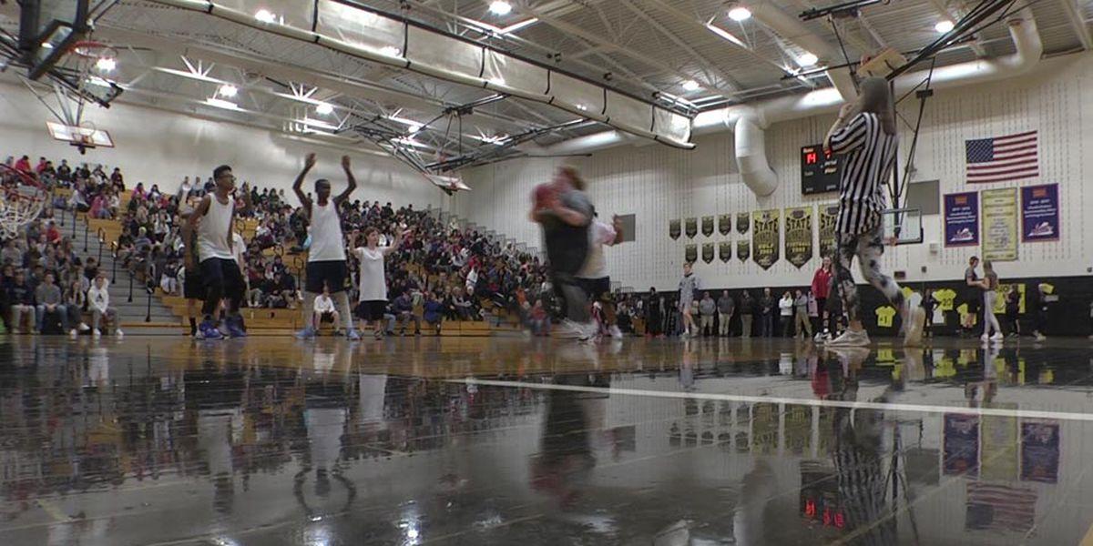 Medford League basketball game held at MHS