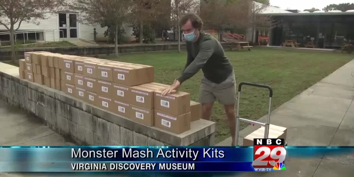 "Boys and Girls Club receives 75 ""Monster Mash"" Halloween activity kits from The Virginia Discovery Museum"