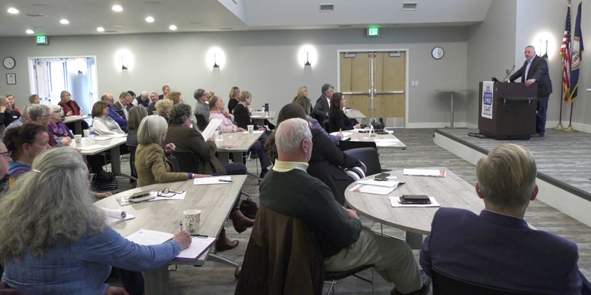 CAAR members discuss home ownership & property rights with Congressman Denver Riggleman