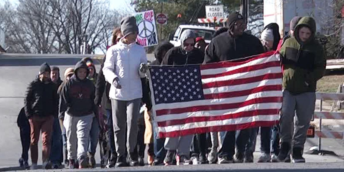 Dozens in Waynesboro, Charlottesville remember the life and legacy of Martin Luther King Jr.