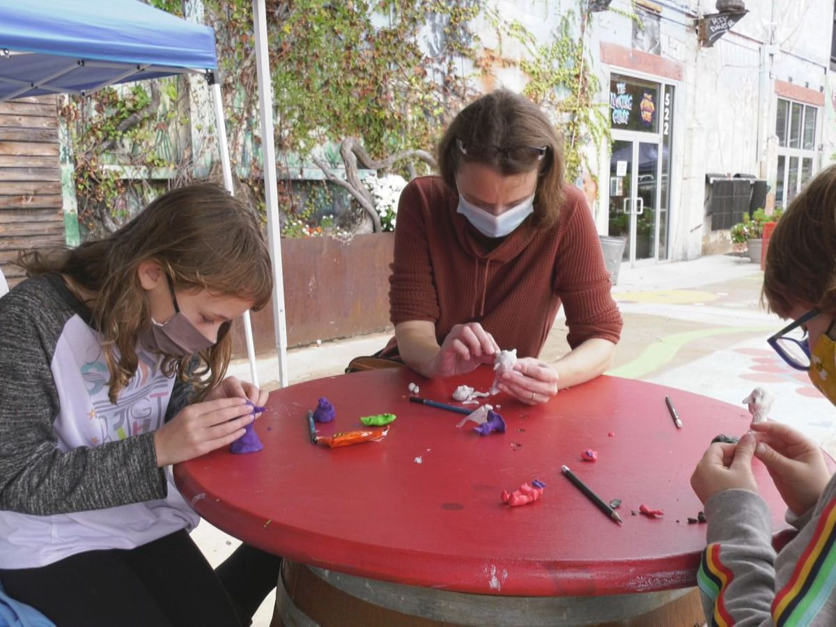 'Tricks at IX' continues with 'Clay of the Dead' art class