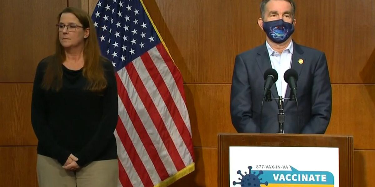 LIVE: Gov. Northam to provide update on vaccinations in Virginia