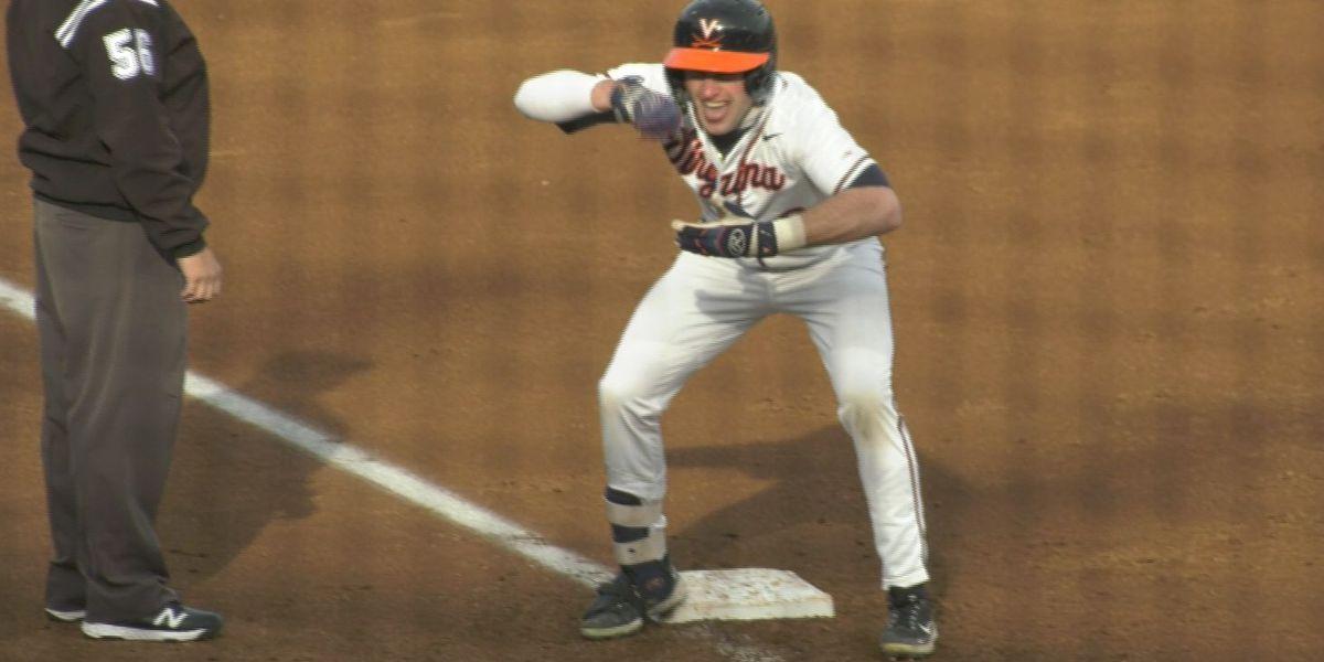 No. 16 UVA baseball tops George Washington 11-1 at Disharoon Park