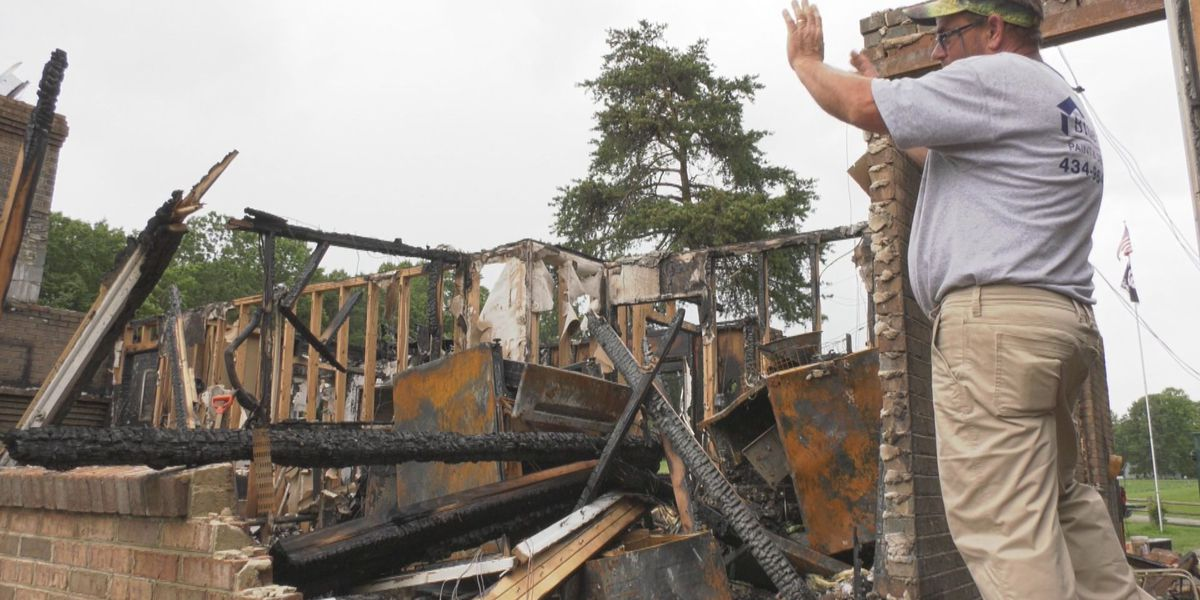 Scottsville family remembering, rebuilding after house burns down