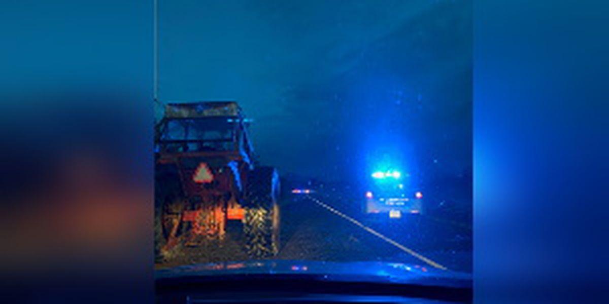 One dead after minivan, tractor crash in Rockingham County