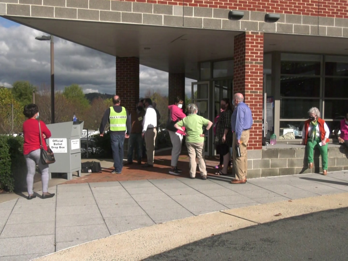 Suspected gas leak interrupts early voting at Albemarle County Office Building