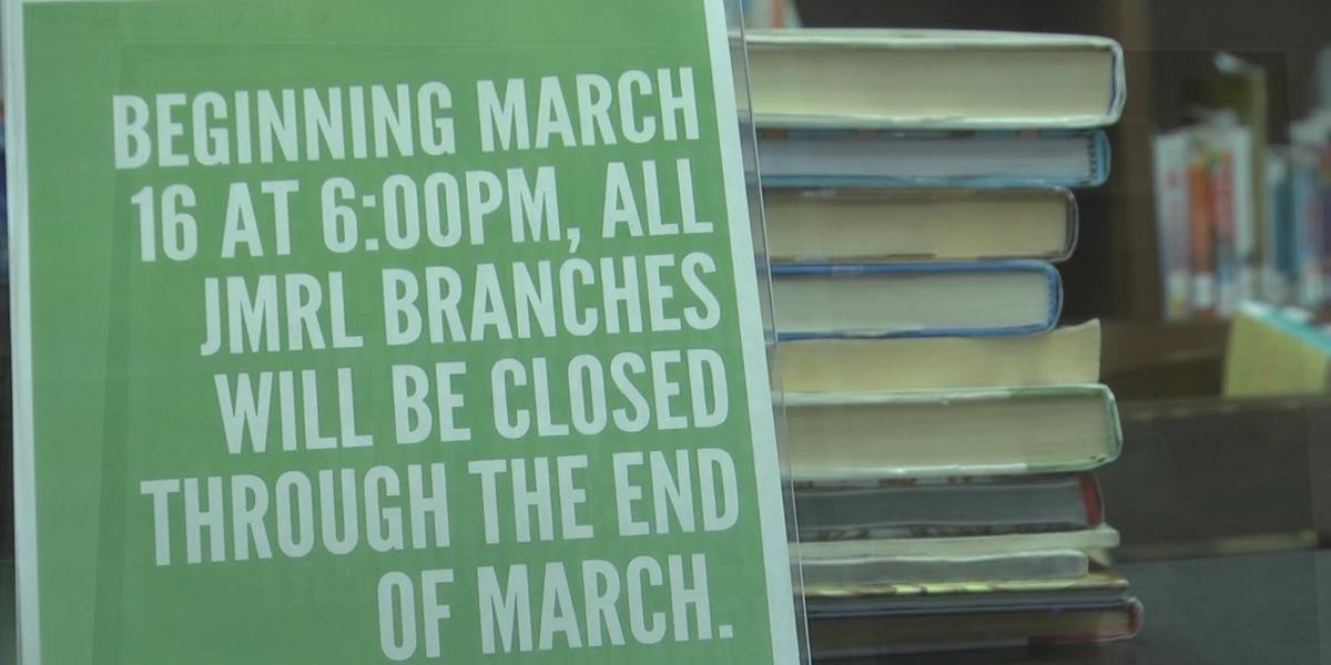 Jefferson Madison Regional Library closing all branches amid coronavirus concerns