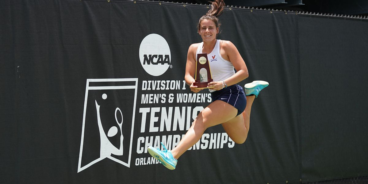 UVA freshman Emma Navarro wins NCAA Tennis Singles National Championship