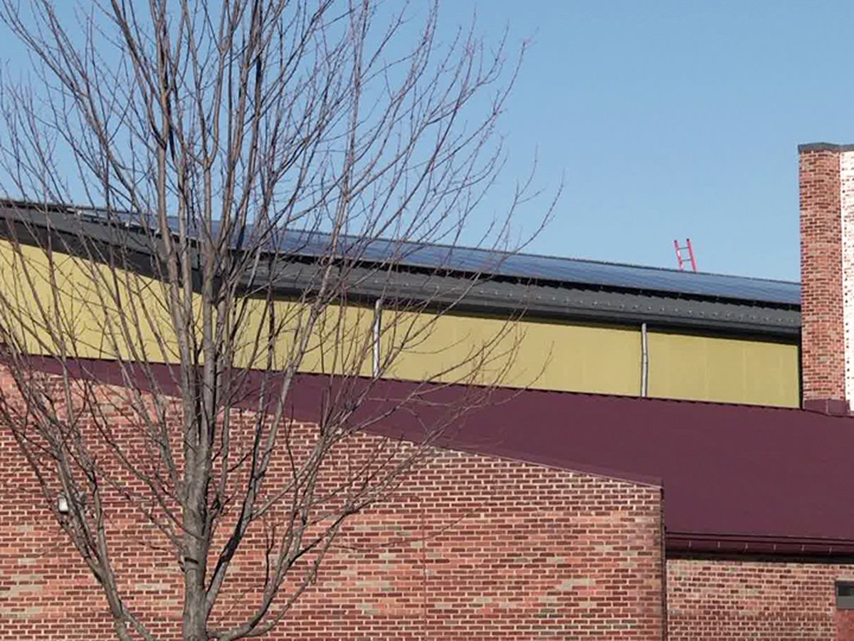 Solar panel inspection will allow Waynesboro Public Schools to use clean energy