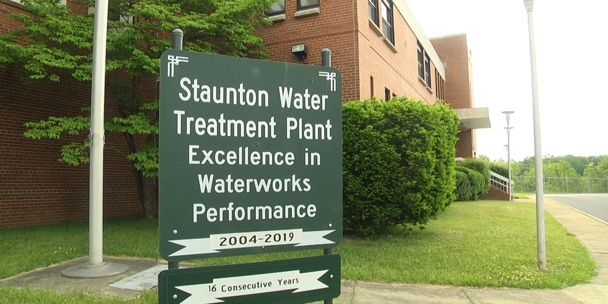 Staunton Water Treatment receives Gold Award thanks to dedicated crew