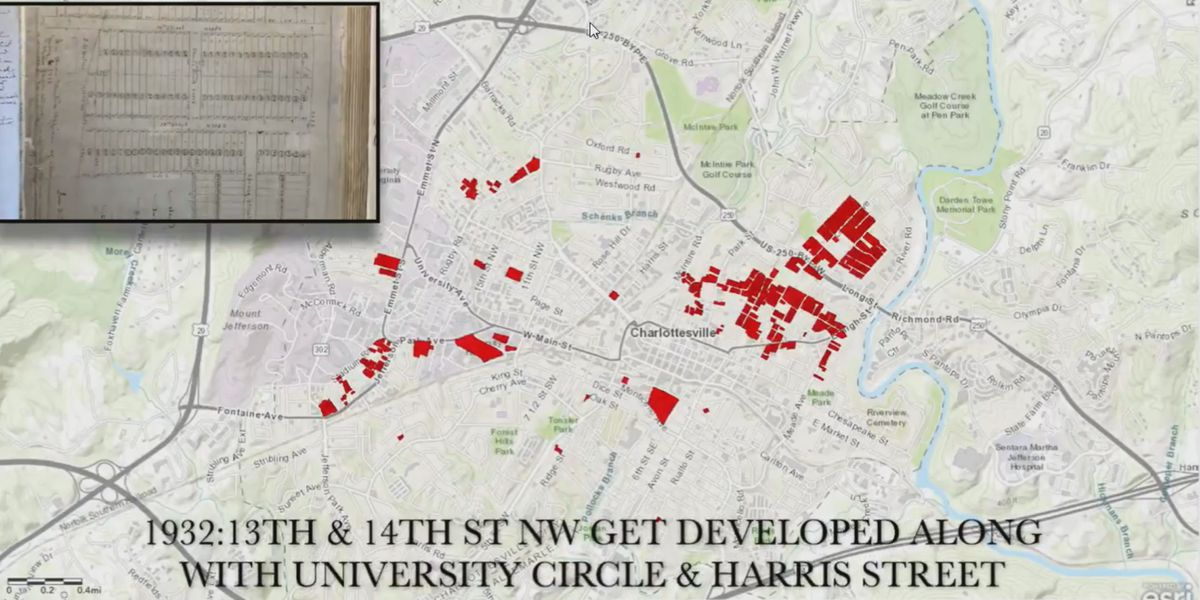"""Mapping CVille"" project charting historical housing discrimination moves into new phase"