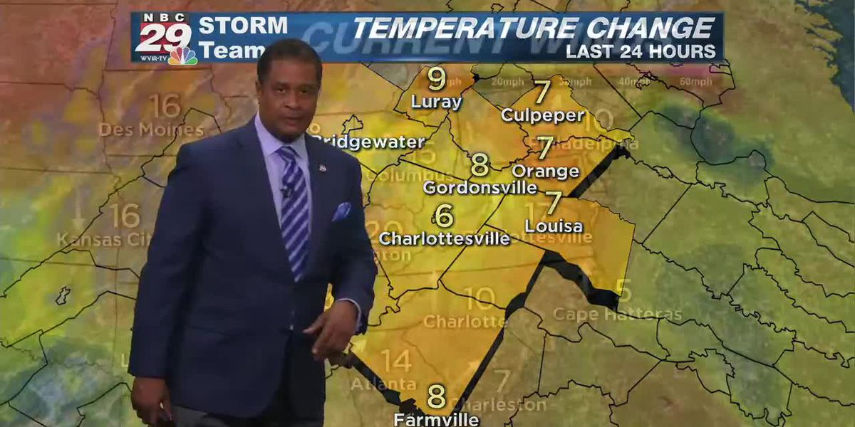 nbc29 weather at noon