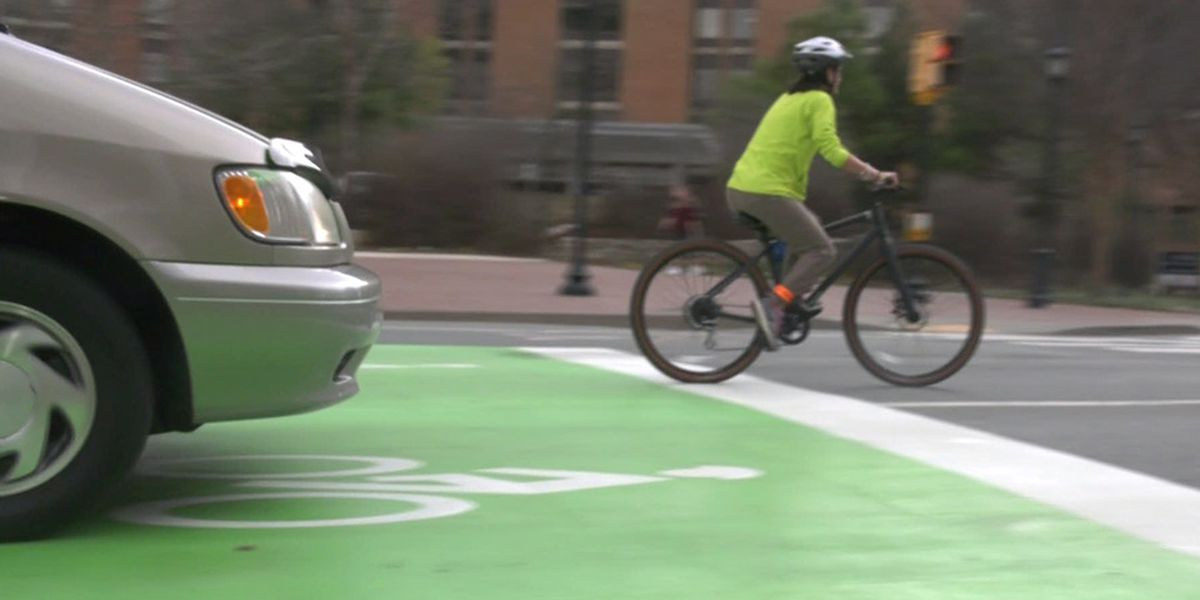 New traffic patterns aims to improve bicycle safety in Charlottesville