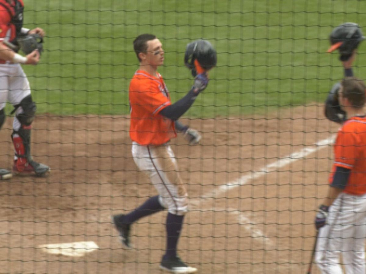 UVA baseball falls 8-2 against No. 7 Louisville in series finale