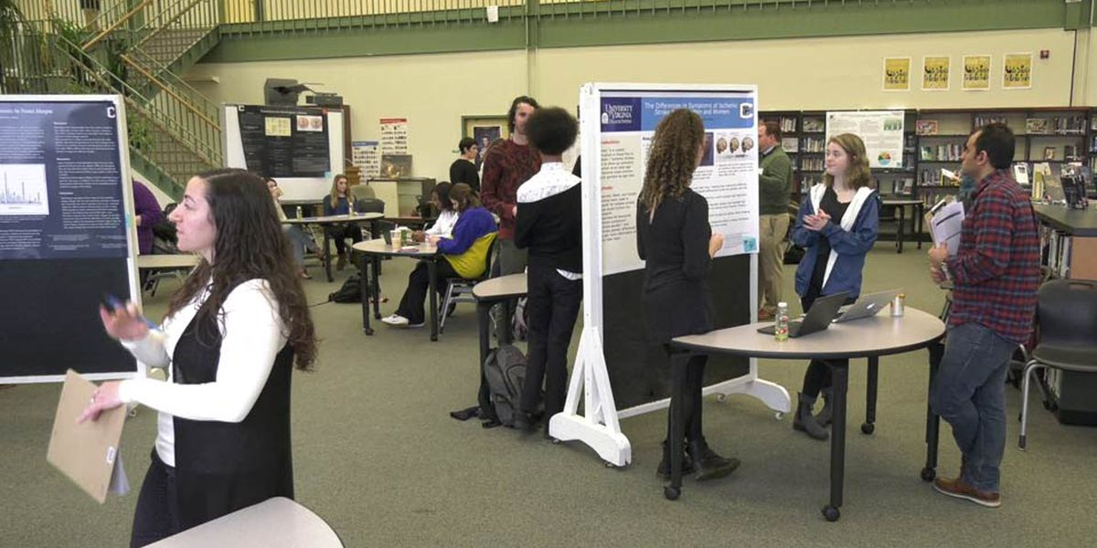 CHS students partner with UVA researchers