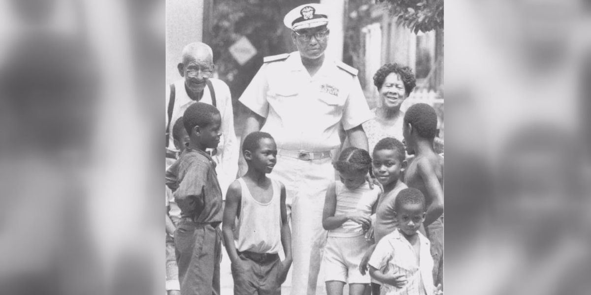 'He truly was the first to conquer': Ceremony honors 50th anniversary of Samuel L. Gravely, Jr., first African American promoted to Navy Admiral