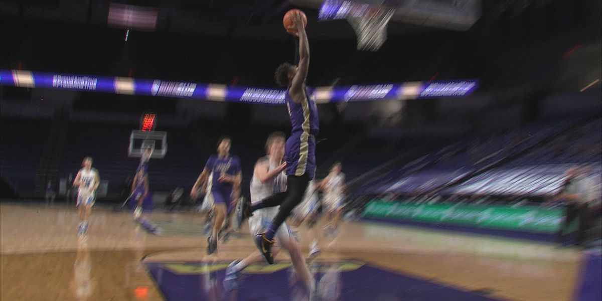 Matt Lewis scores 29; JMU tops Alice Lloyd College 98-55