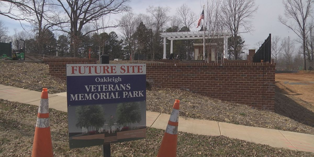 Oakleigh Veterans Memorial Park to soon be completed in Albemarle Co.