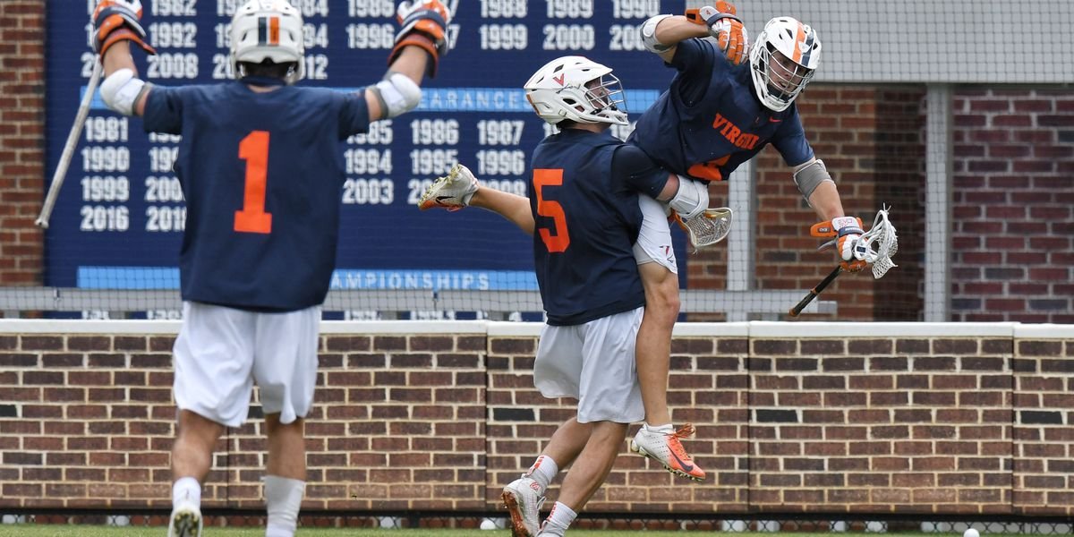 No. 6 Virginia men's lax knocks off No. 3 UNC 18-16