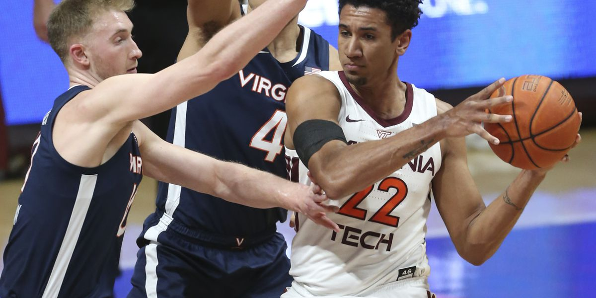 #8 Virginia falls to #20 Virginia Tech on the road