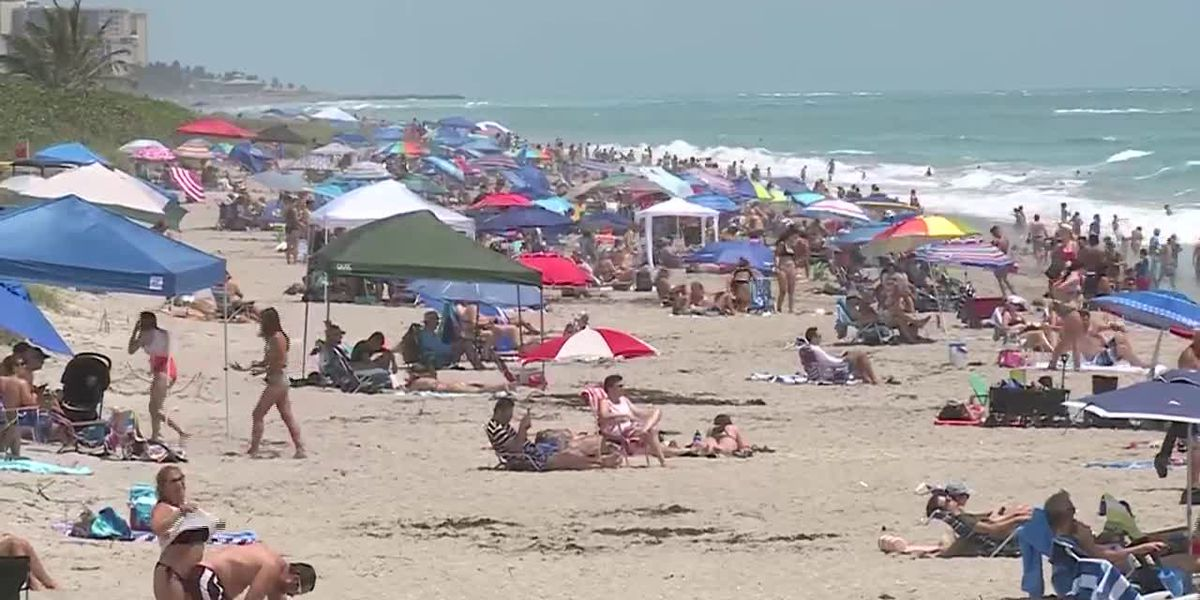 Holiday weekend tests Americans' willingness to social distance as summer approaches