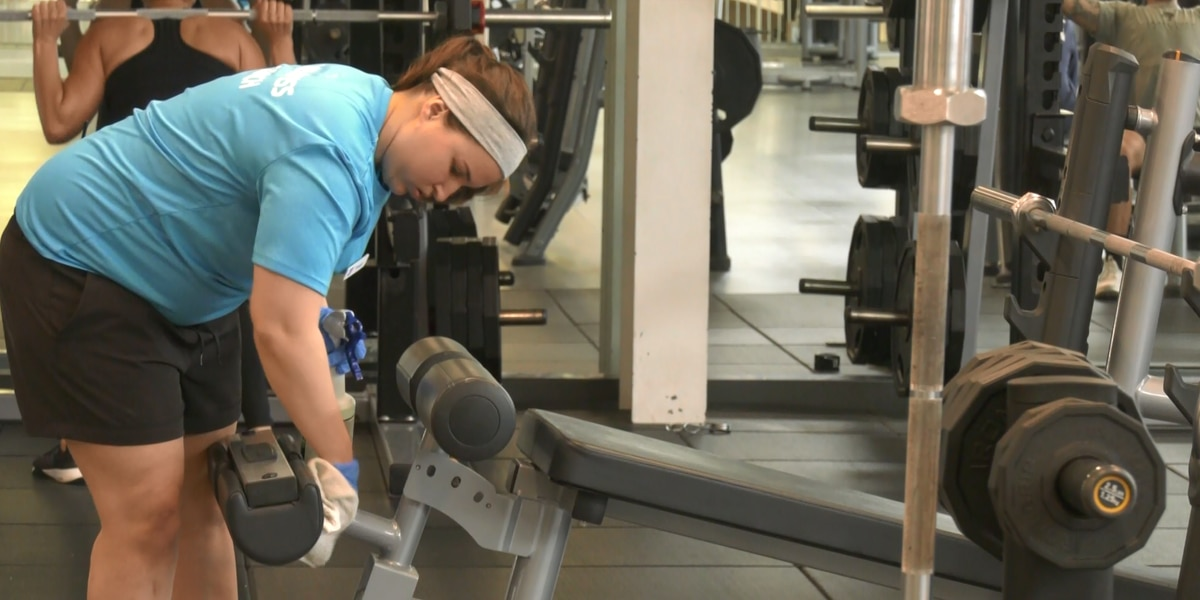 Gyms in Charlottesville stepping up cleaning procedures in wake of COVID-19