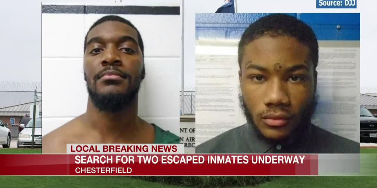 US Marshals capture escaped Chesterfield inmates in Michigan