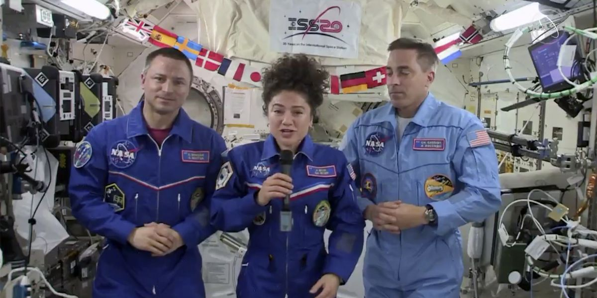ISS crew lands in Kazakhstan after more than 200 days in space