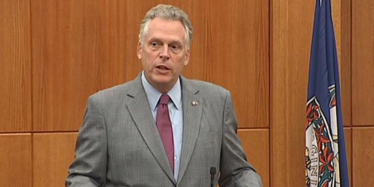 Former Governor McAuliffe launches campaign to get job back