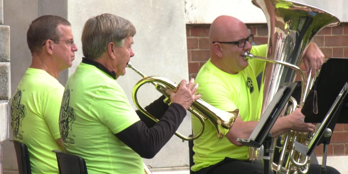 """Charlottesville Municipal Band hosts """"Socially Distanced Brass"""" near Market Street Park"""