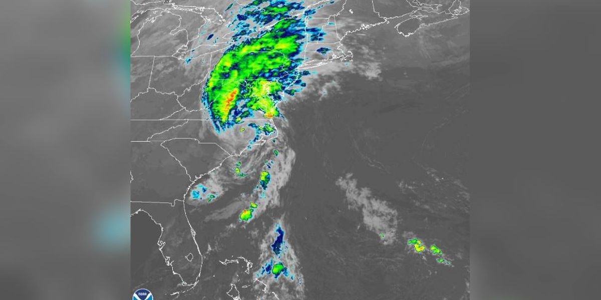 Isaias, again a tropical storm, spawns wild inland weather along East Coast