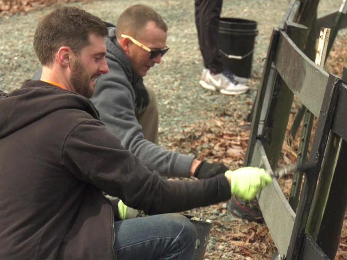 Employees donate time volunteering around Charlottesville area