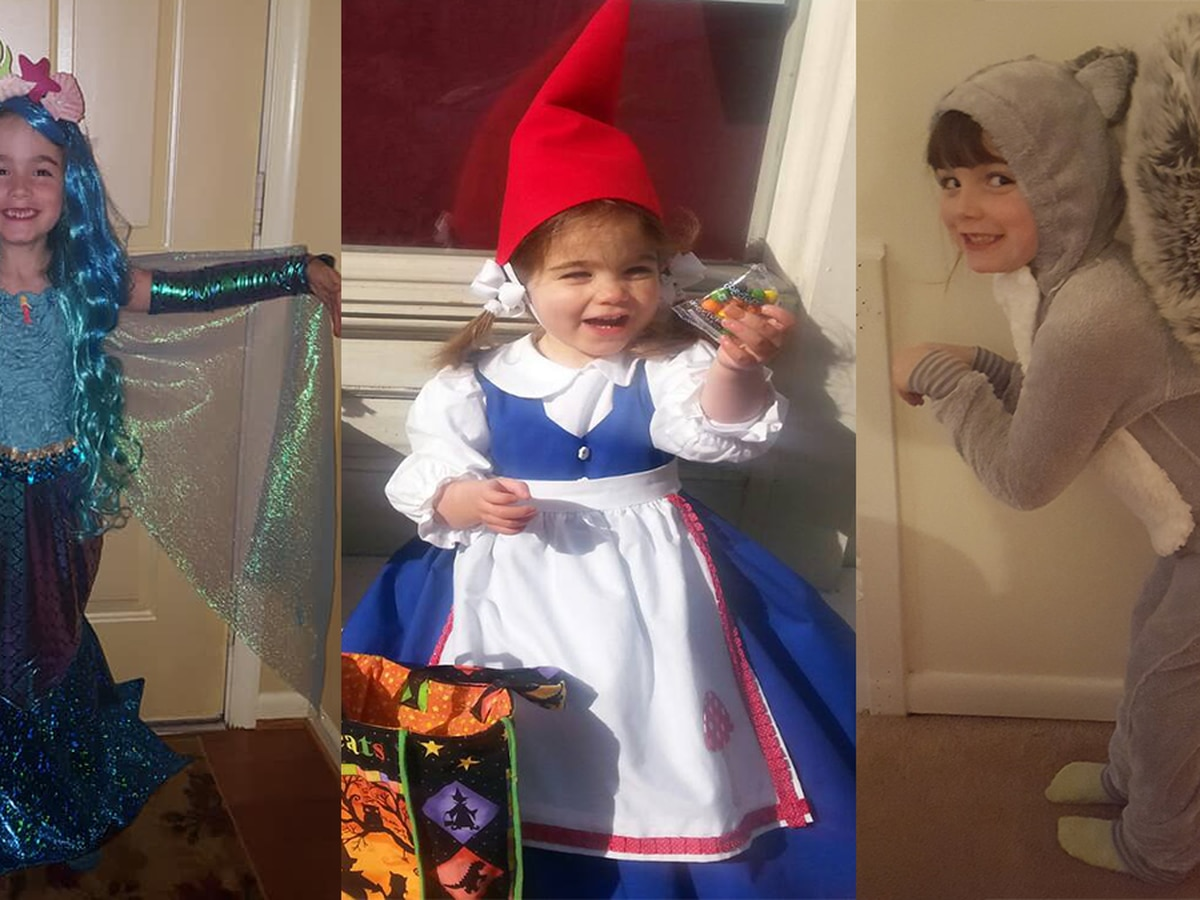 Share photos of your favorite Halloween costumes!