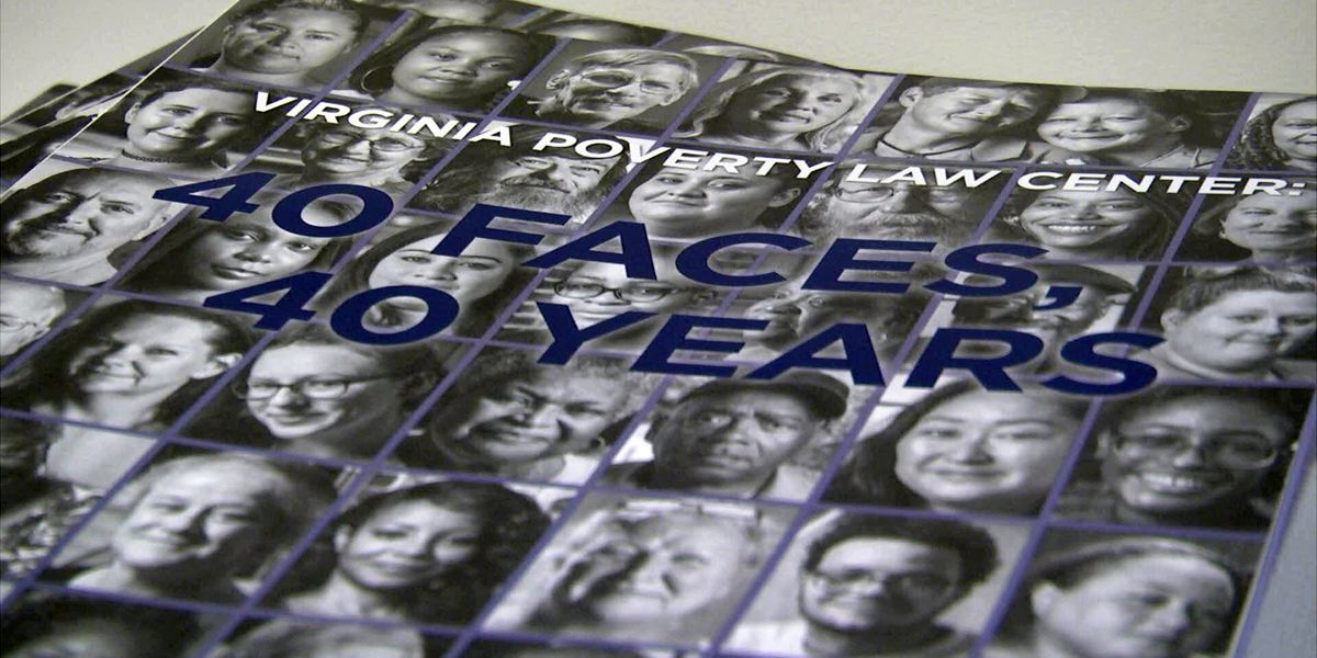 """Virginia Poverty Law Center: 40 Faces, 40 Years"" exhibit opens in Charlottesville"