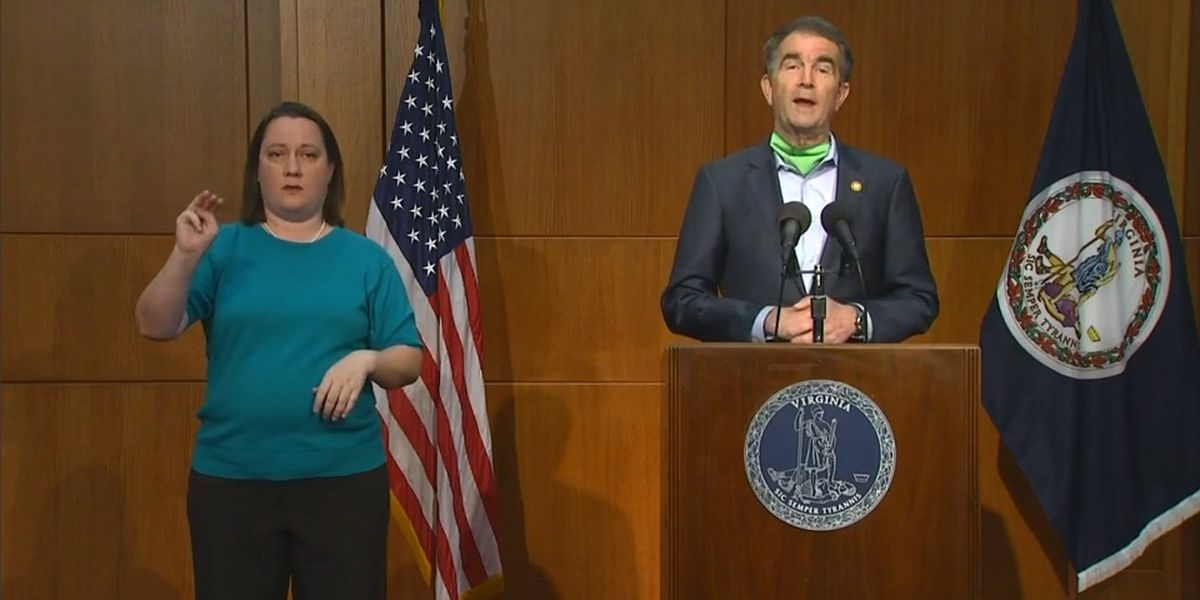 Gov. Northam announces new mask policy during update on COVID-19 in Virginia