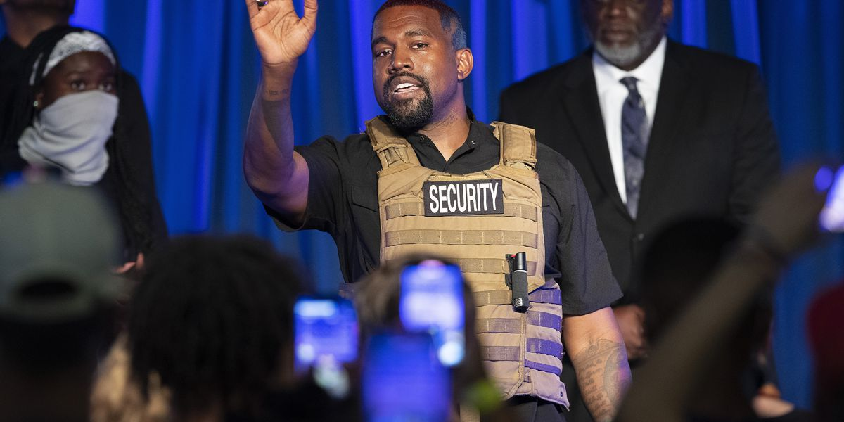 Judge rules that Kanye West is off Virginia's ballot