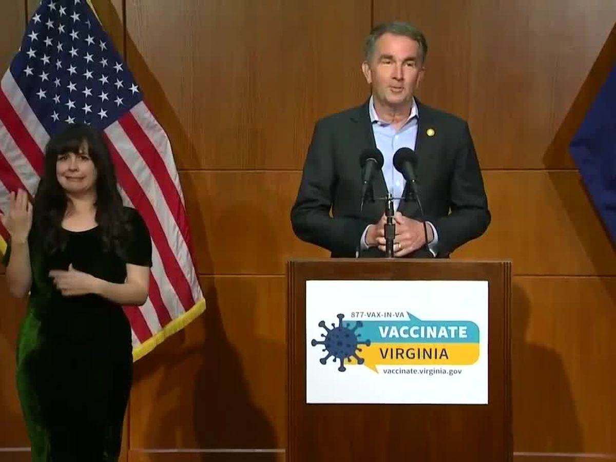 Northam lifting mask mandate; capacity, social distancing restrictions to end May 28