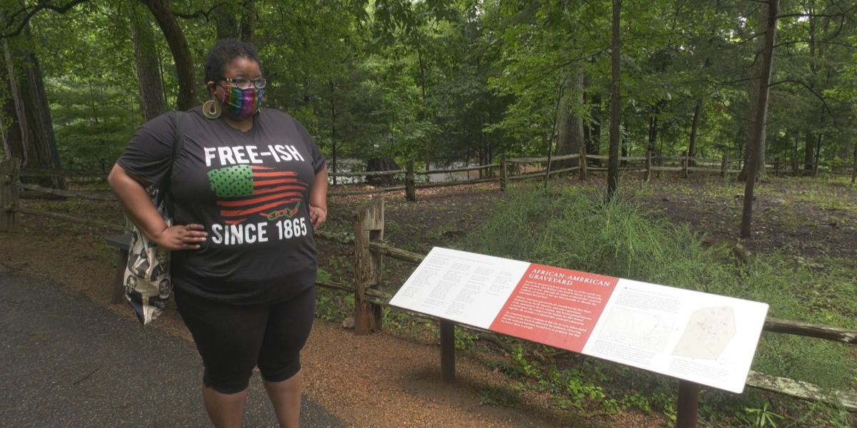 Virginia woman spends Juneteenth reflecting at Monticello, where her ancestors were enslaved