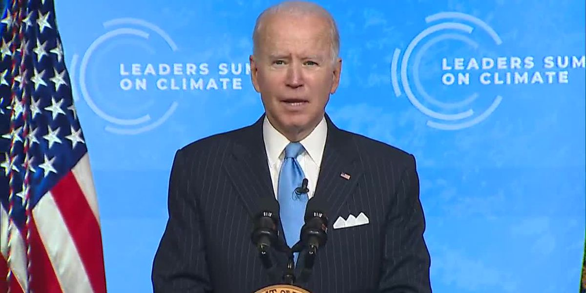 Biden talks opportunity for jobs at climate summit