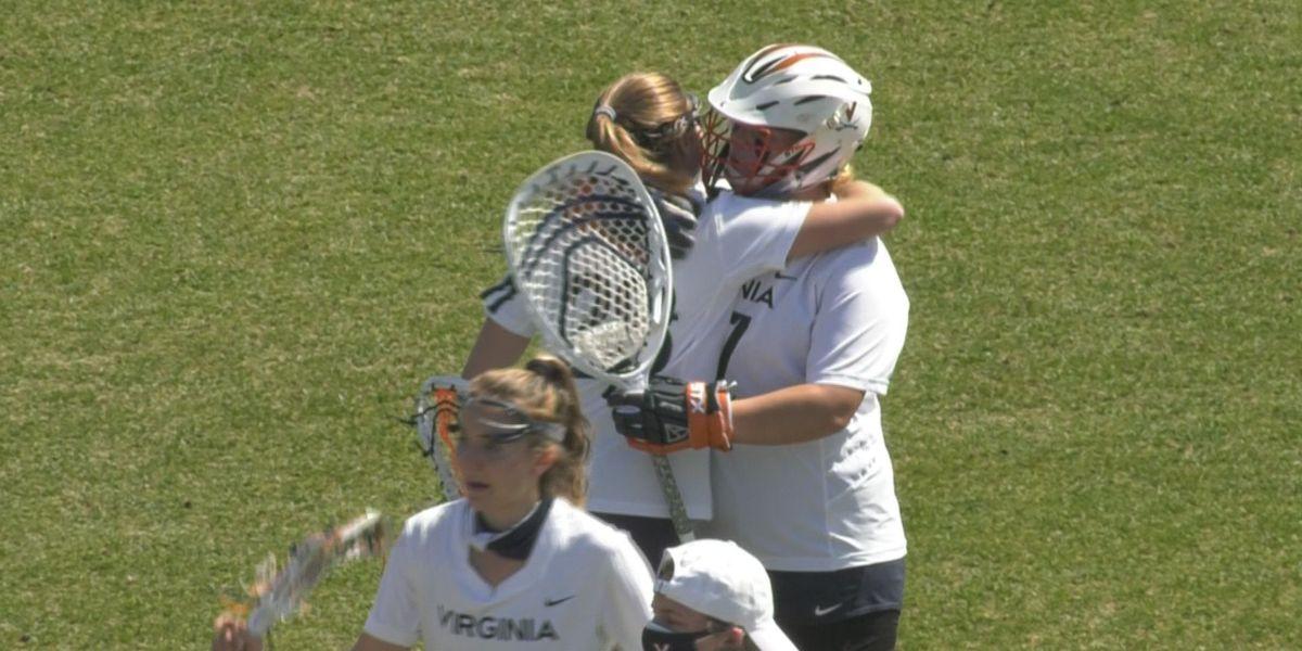 #9 UVA women's lax defeats #10 Duke 14-11