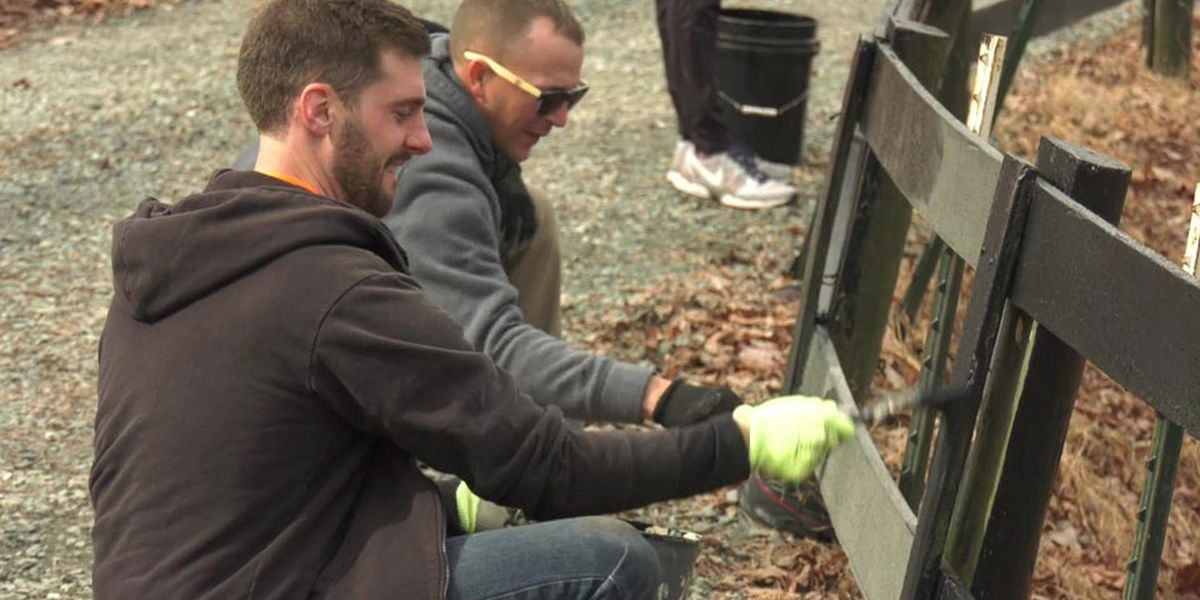 Employees donate time volunteering around Charlottesville area