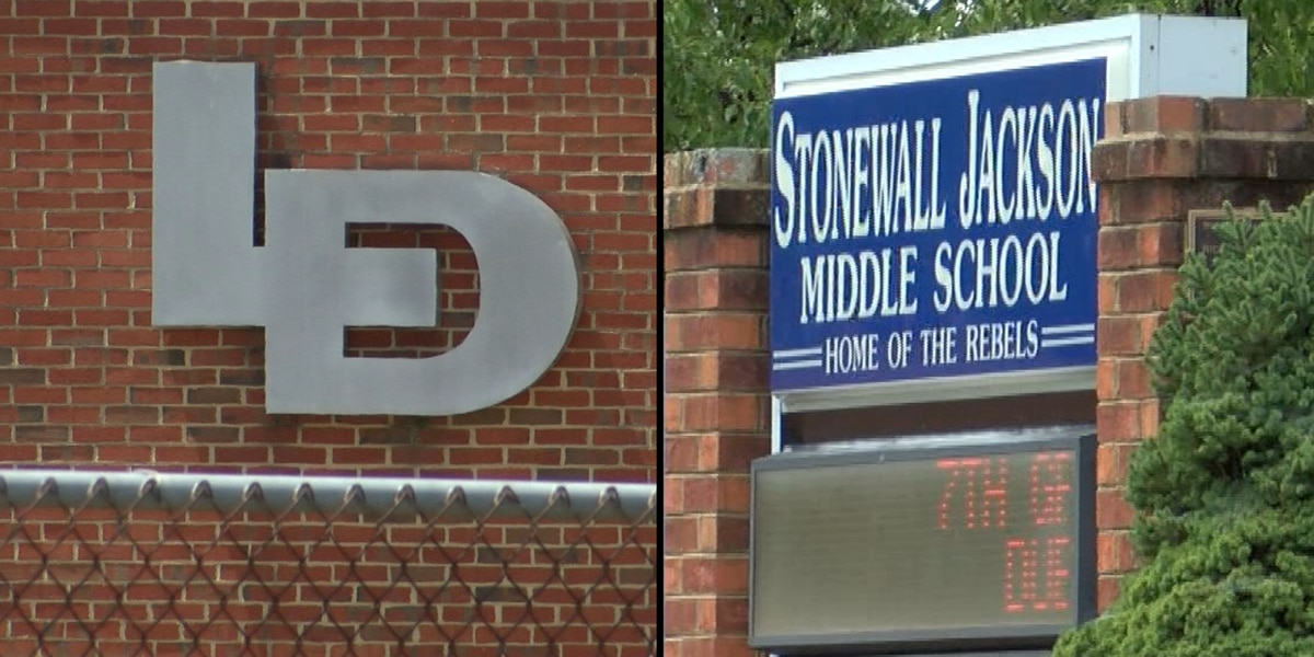 Hanover School Board approves names to replace former Lee-Davis, Stonewall Jackson schools
