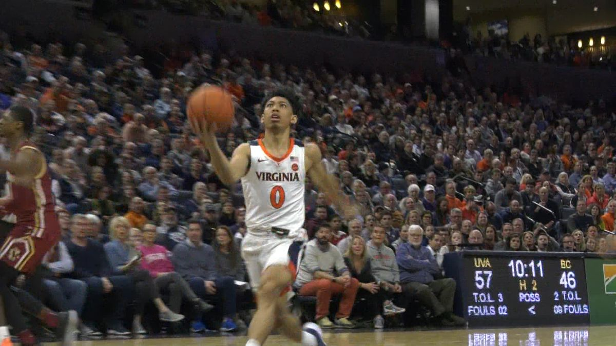Cavaliers beat BC 78-65; Improve to 10-5 in ACC